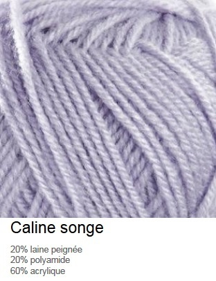laine Caline coloris songe Bergère de France